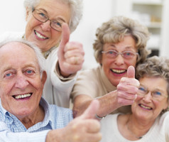 Rentner, Pflegeheim, Senioren