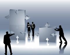 Unternehmensverschmelzung, Ausgliederung, Abspaltung